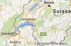 carte Lausanne